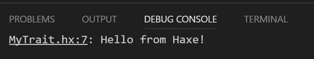 Kode Sudio Debug Console Armory3D