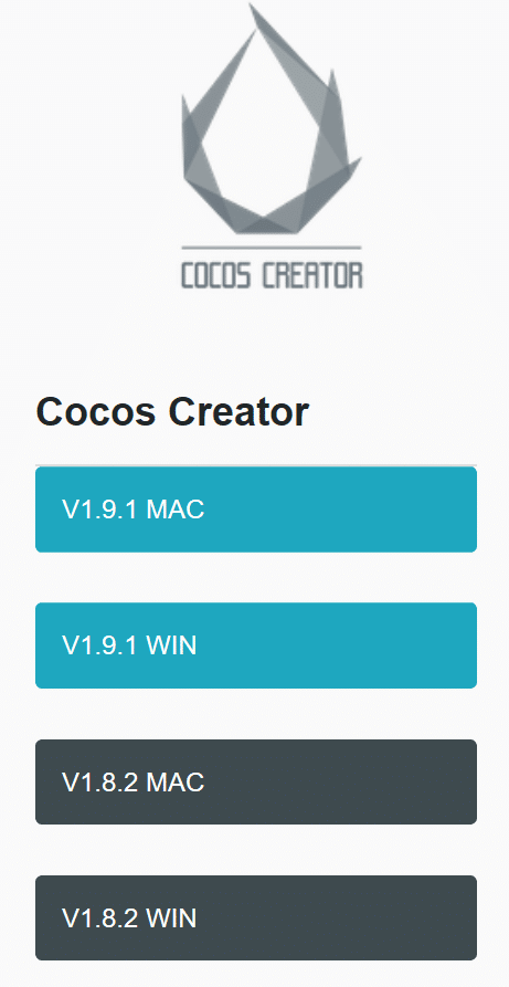 Cocos Creator download
