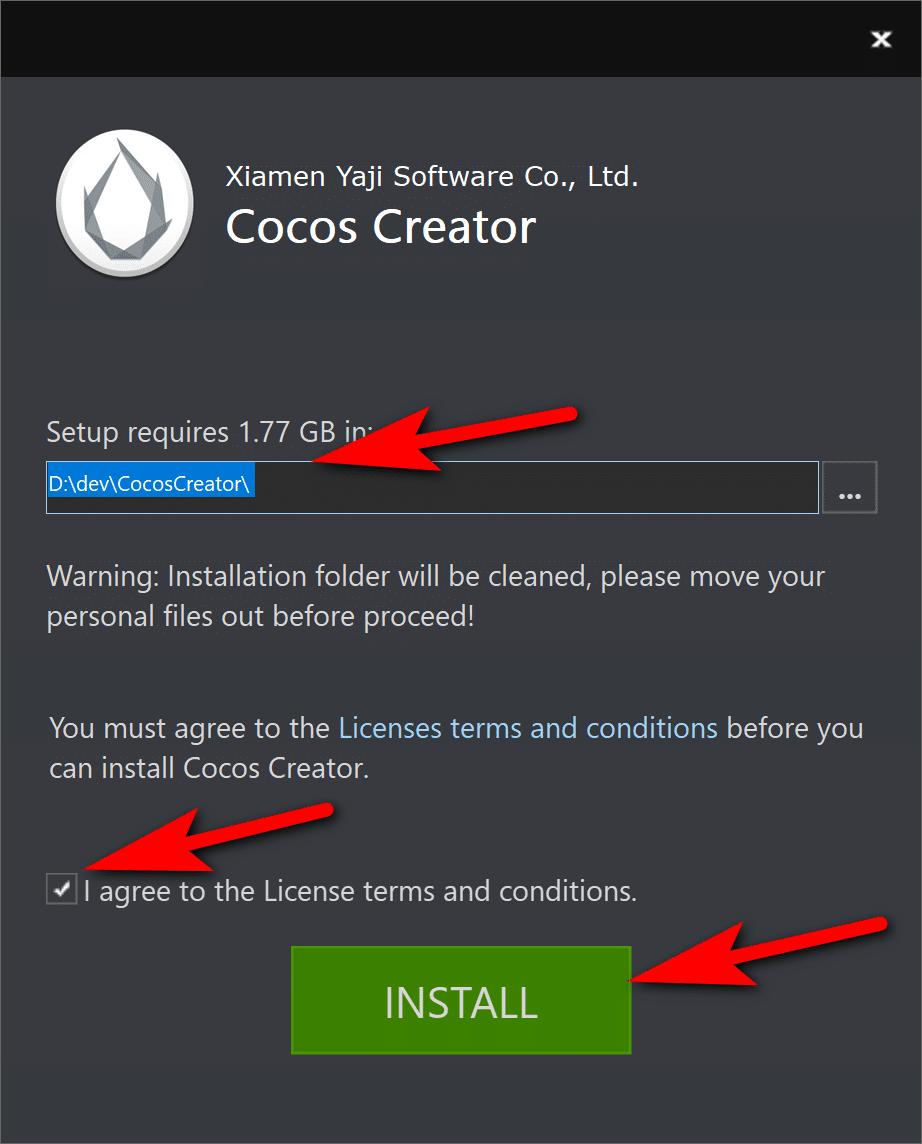Cocos Creator Setup 2 - devga.me Tutorial
