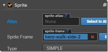 sprite frame property - Cocos Creator - Devga.me Tutorial