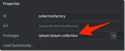 Create a collection factory