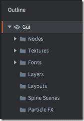 Gui outline