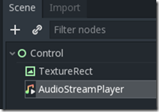 AudioStreamPlayer-node