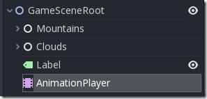 Scene-status in Godot Game Engine Screenshot