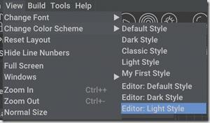 AppGameKit Change Color Scheme