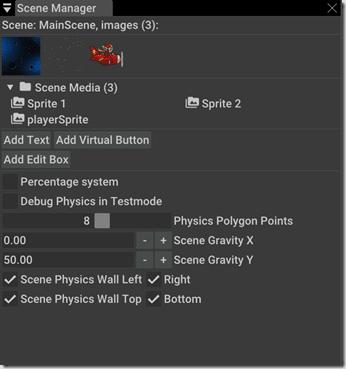 AppGameKit Scene Manager